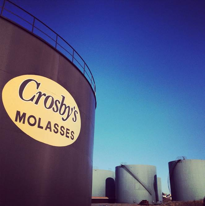 Crosby's molasses tank
