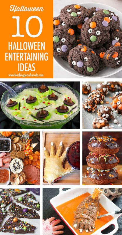 10 Halloween Entertaining Ideas | Food Bloggers of Canada