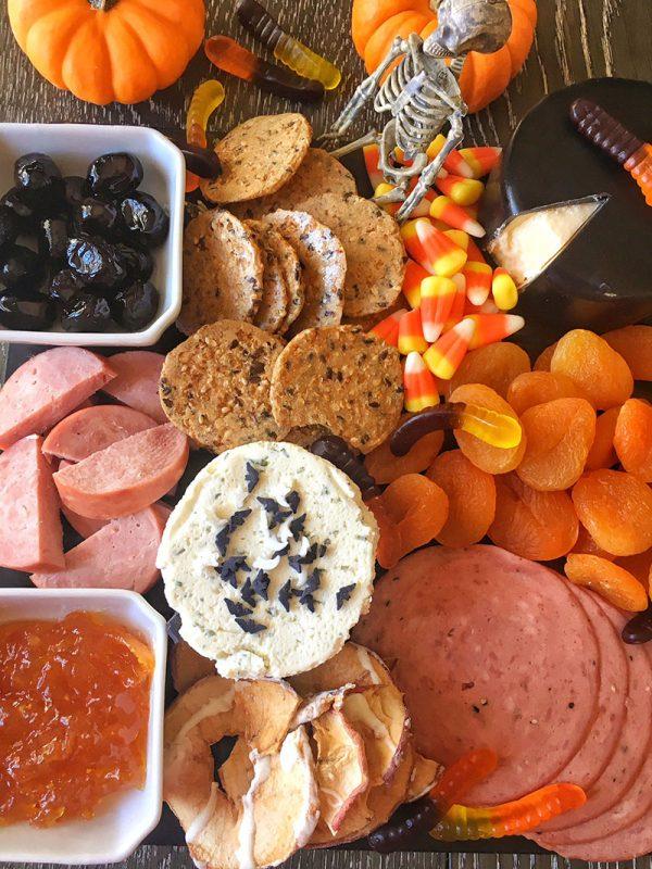 Orange and Black Halloween Board | Food Mamma