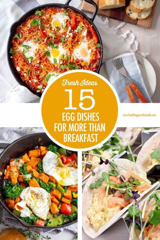 15 Egg Recipes For Dinner | Food Bloggers of Canada
