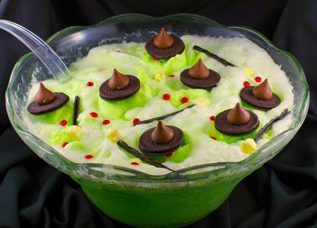 Melting Witch Halloween Punch | Food Meanderings