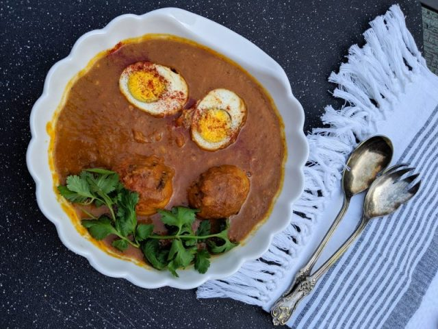 Easy Egg Curry | Maple and Marigold