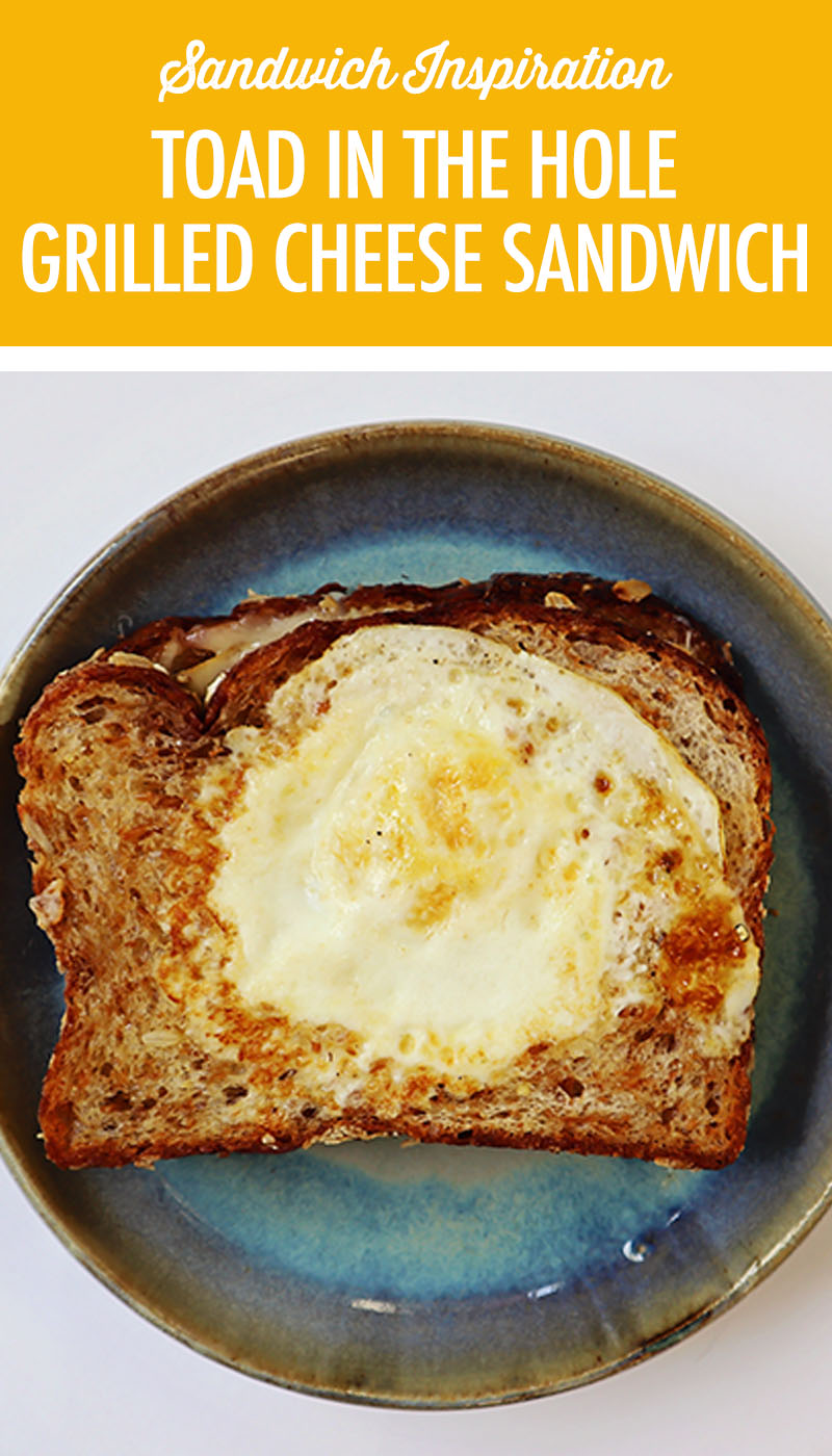 Toad in the Hold Grilled Cheese Sandwich   Food Bloggers of Canada