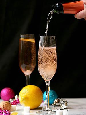 Classic Champagne Cocktail | Domestic Dreamboat