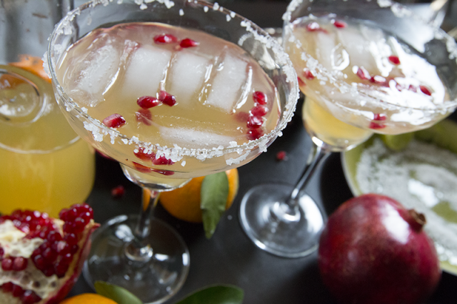 Pomegranate and Clemintine Margarita | Kravings Food Adventures