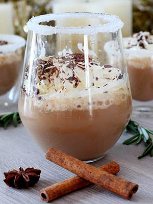 Christmas Eve Coffee Truffle Drink | Julia's Recipes