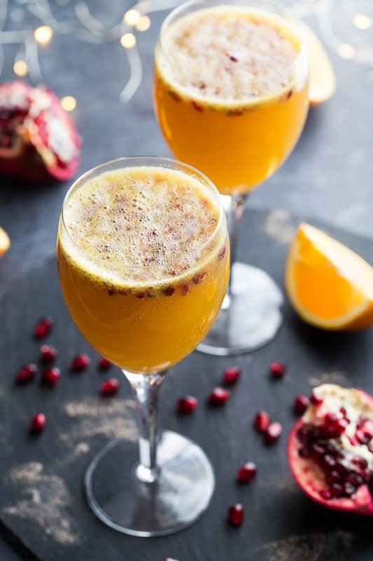 Ginger Beer Mimosas | Crumb Top Baking