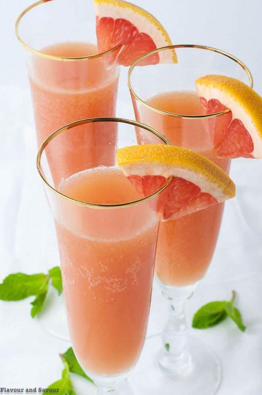 Grapefruit Ginger Mocktail | Flavour & Savour