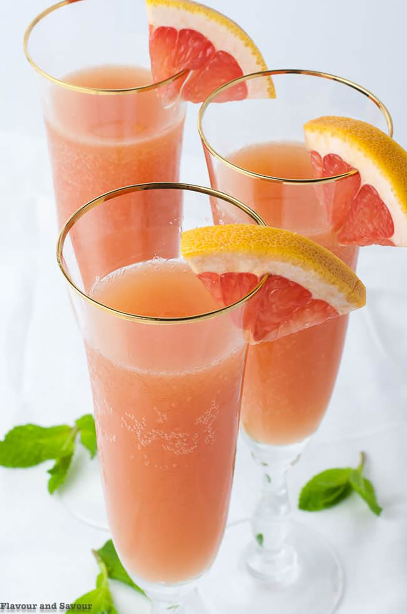 Grapefruit Ginger Mocktail | Flavour & Savour