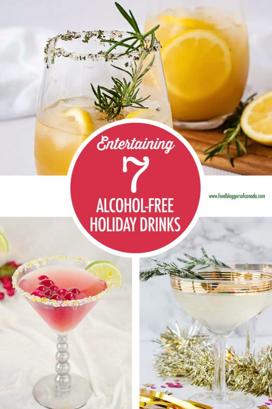 7 Alcohol-Free Holiday Drink Recipes | Food Bloggers of Canada