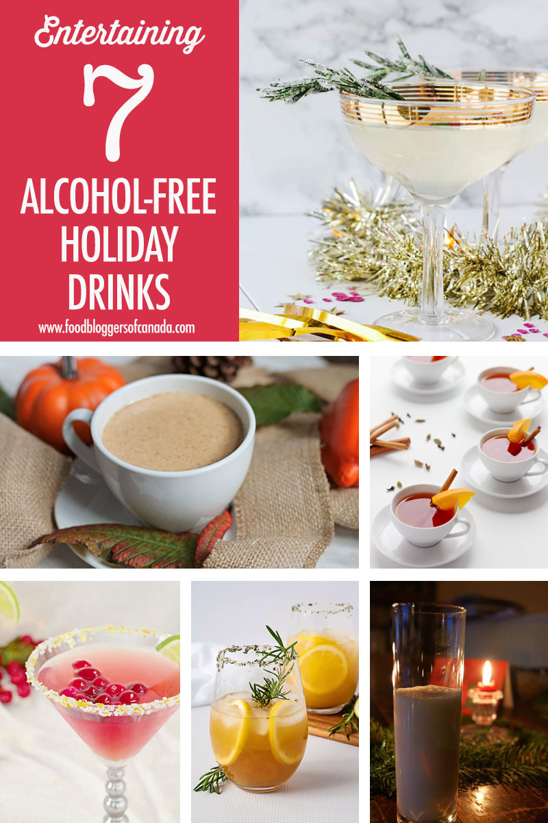 7 Alcohol Free Holiday Drinks | Food Bloggers of Canada