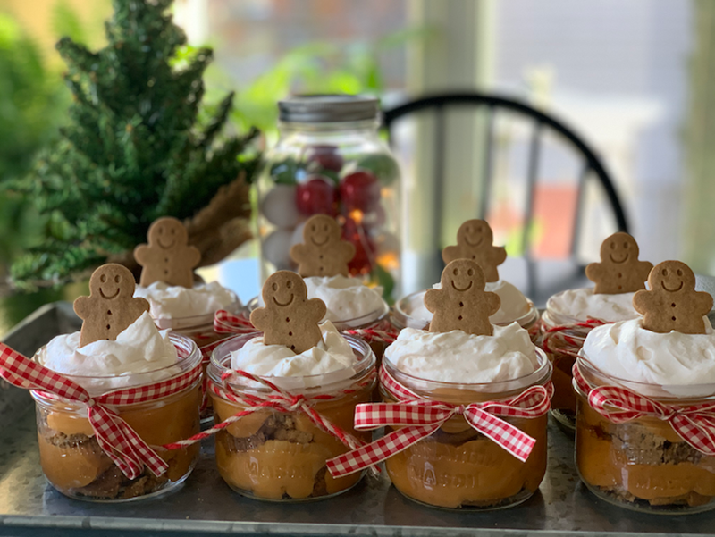 Individual Amarula Gingerbread Trifles | Life in Pleasantville