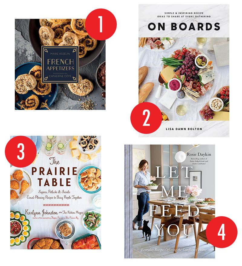 Canadian Cookbooks for Entertaining