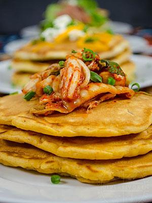 Kimchi Seafood Pancakes | Diversivore
