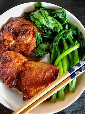 Gochujang Mis Chicken Thighs | Izzy Preps
