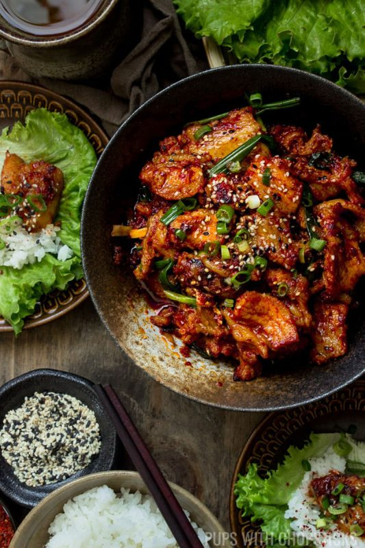 Spicy Korean Pork Bulgogi