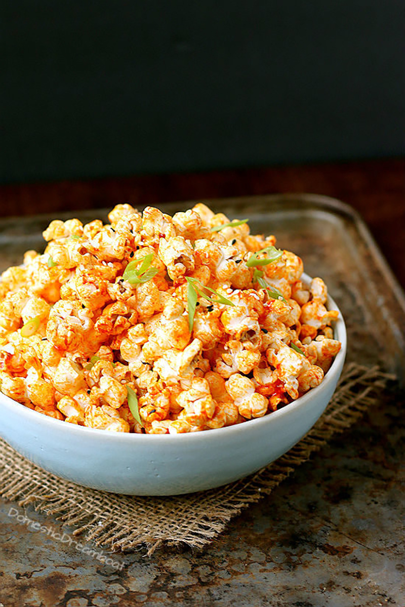 Gochujang Butter Popcorn | Domestic Dreamboat