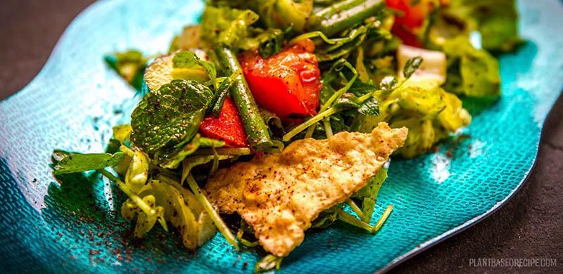 Fattoush Salad by Plant Based Recipe
