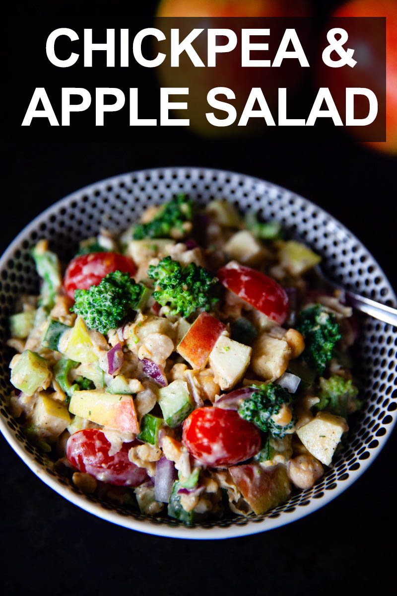Chickpea Salad with Apples