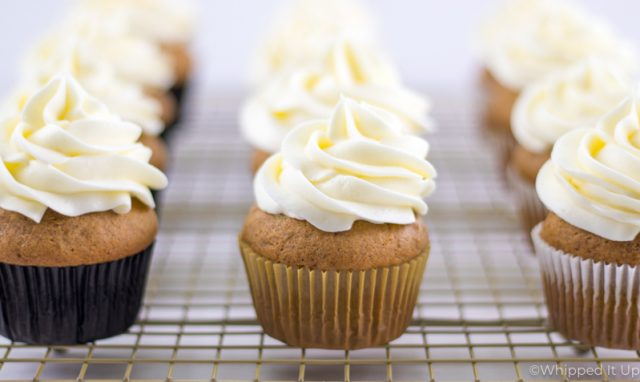 Pumpkin Spice Cupcakes | Whipped It Up