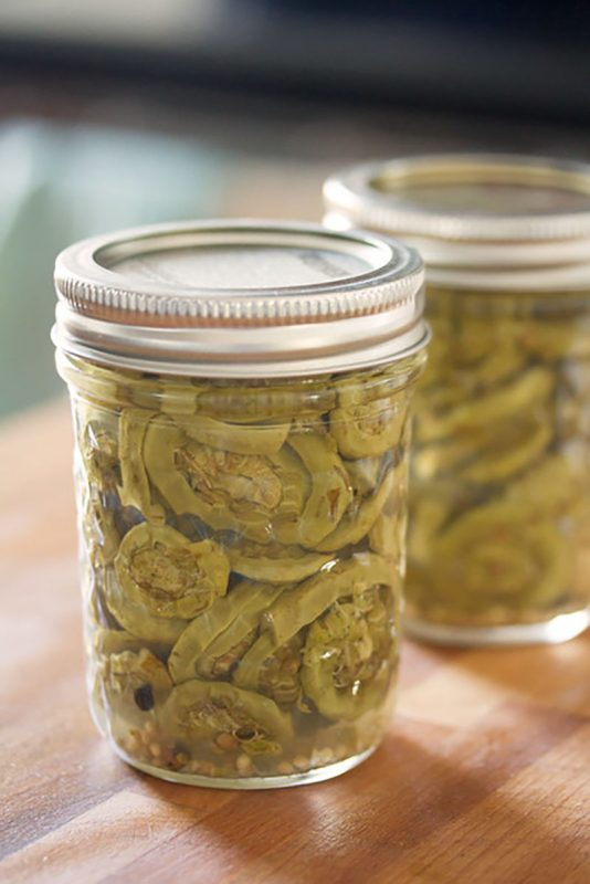 Small Batch Pickled Fiddleheads | Crumb