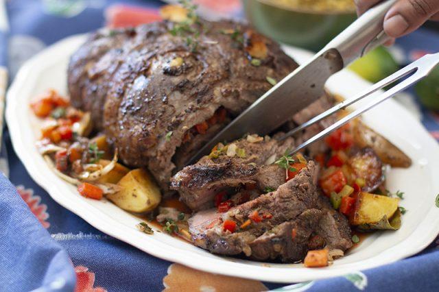 Jerk Lamb Roast | Kravings Food Adventures
