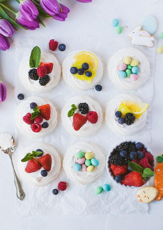 Mini Easter Pavlovas | My Daily Randomness