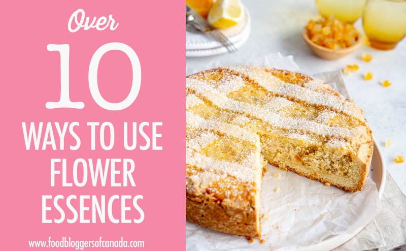 10 Ways To Cook With Flower Essences Graphic