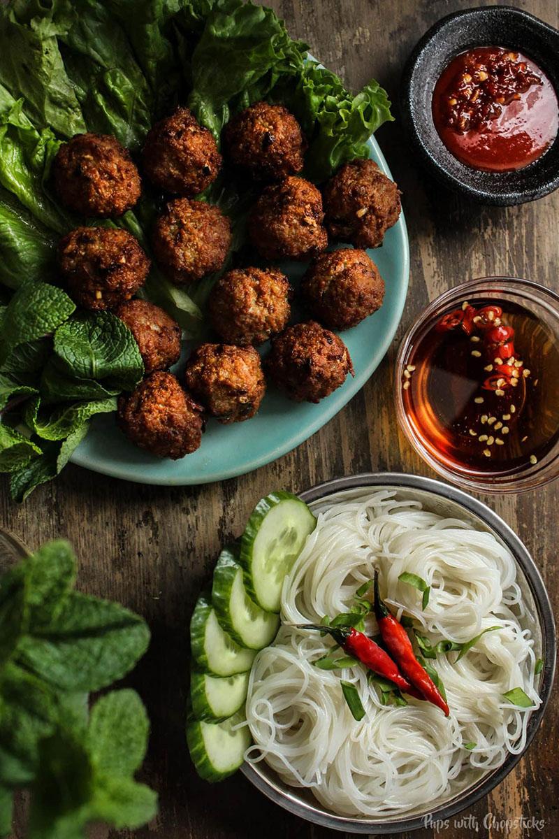Lemongrass Pork Meatballs 3 Ways