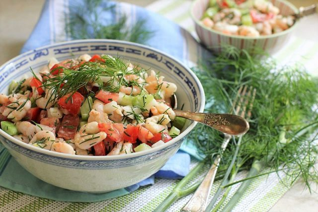 Shrimp Salad | Kitchen Frau