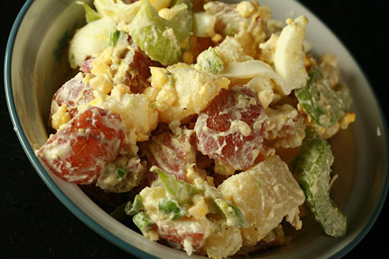 Cold Smoked Potato Salad