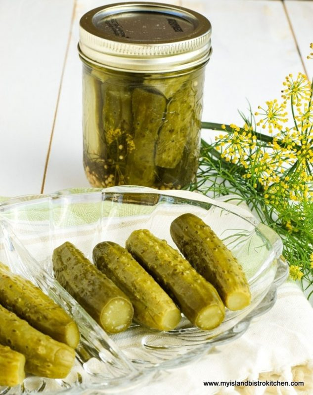 How to Make Dill Pickles | My Island Bistro Kitchen