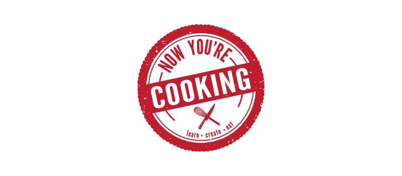 Now You're Cooking logo