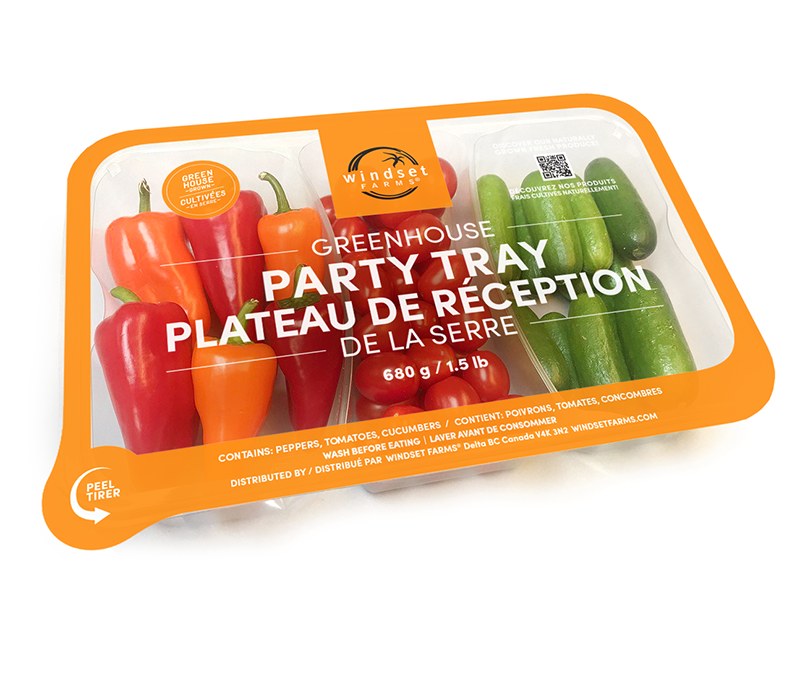 Windset Farms Greenhouse Party Tray