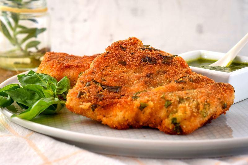 crispy batter coated fried fish on a plate