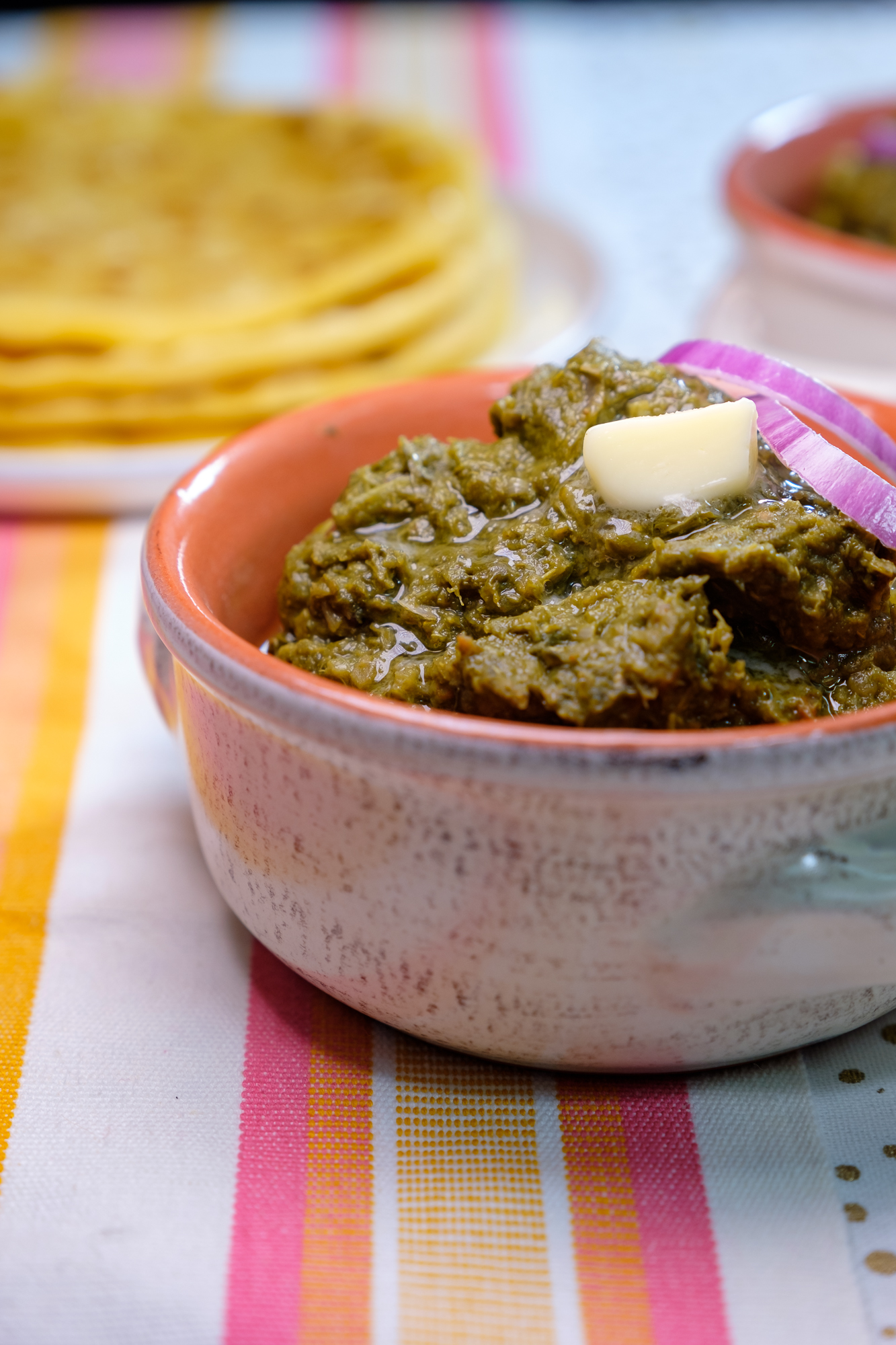 Bowl of Punjabi Saag