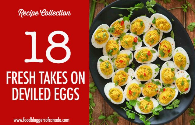 Curry Deviled Eggs
