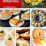 Collage of 8 Deviled Egg Recipes