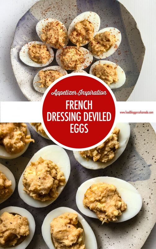 French Dressig Deviled Eggs